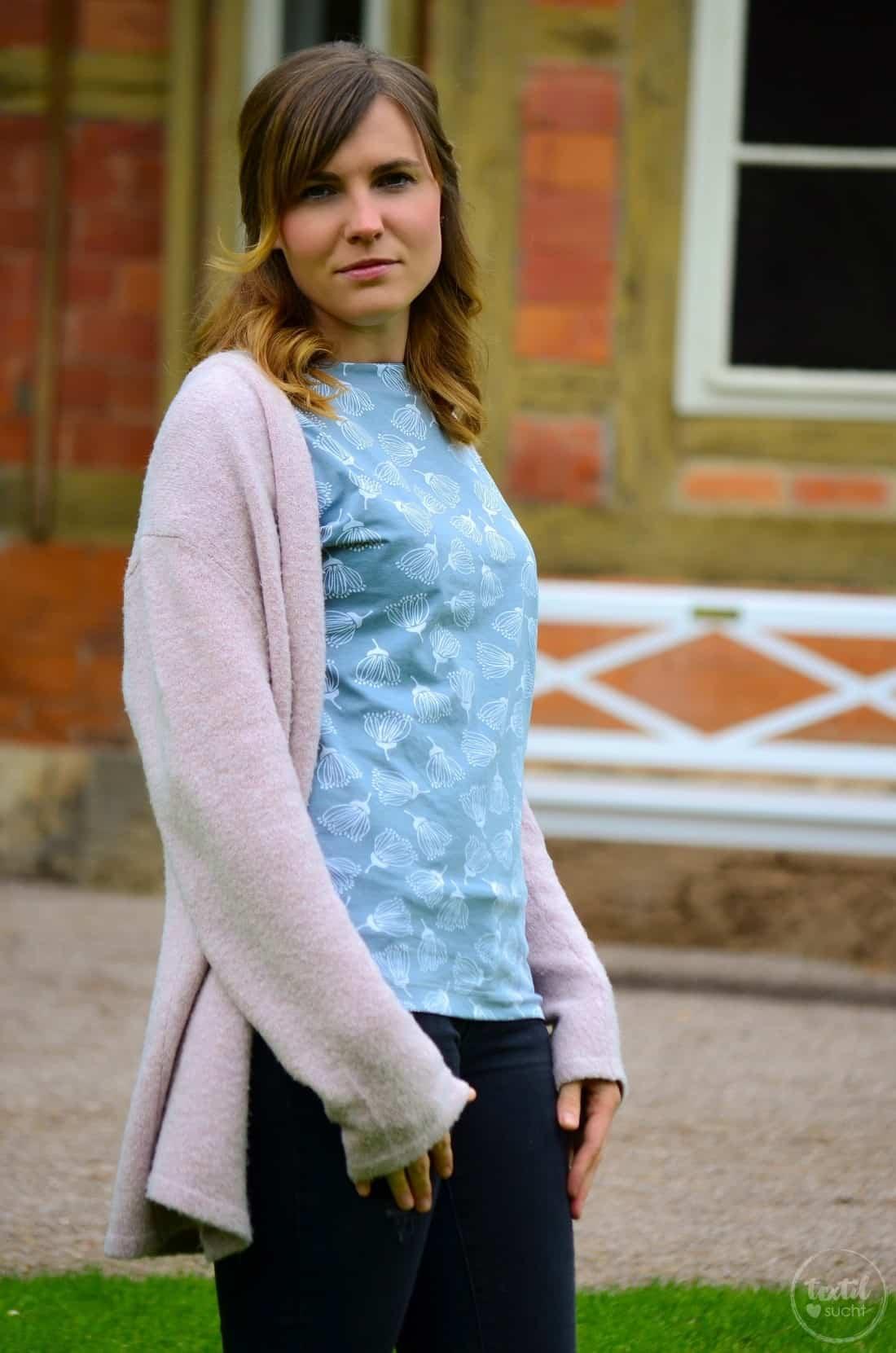 Schnittmuster Shirt Lilla aus FELICIFLORA von raxn - Bild 1 | textilsucht