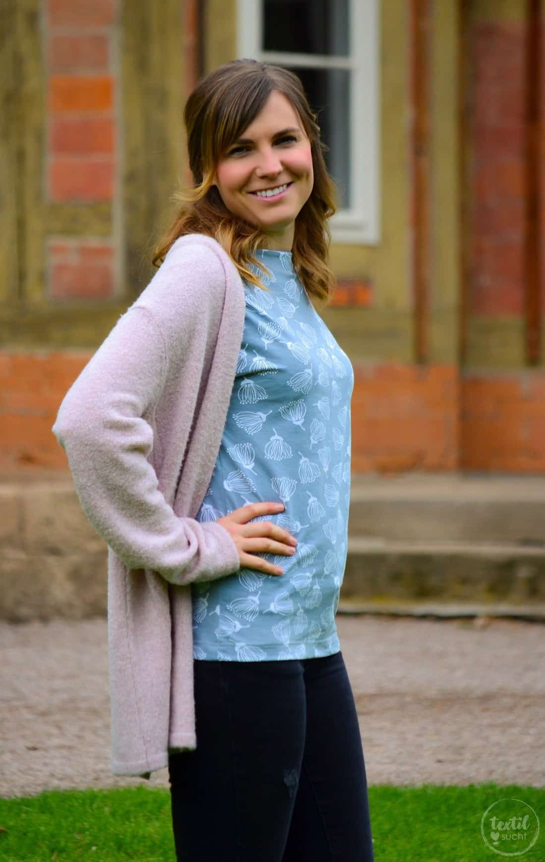 Schnittmuster Shirt Lilla aus FELICIFLORA von raxn - Bild 6 | textilsucht