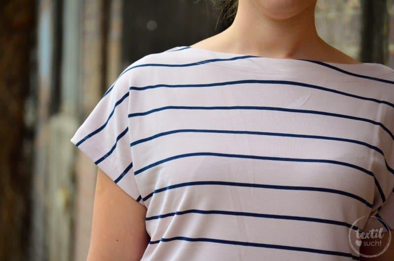 Schnittmuster Shirt Lilla mit U-Boot-Ausschnitt - Bild 6 | textilsucht.de