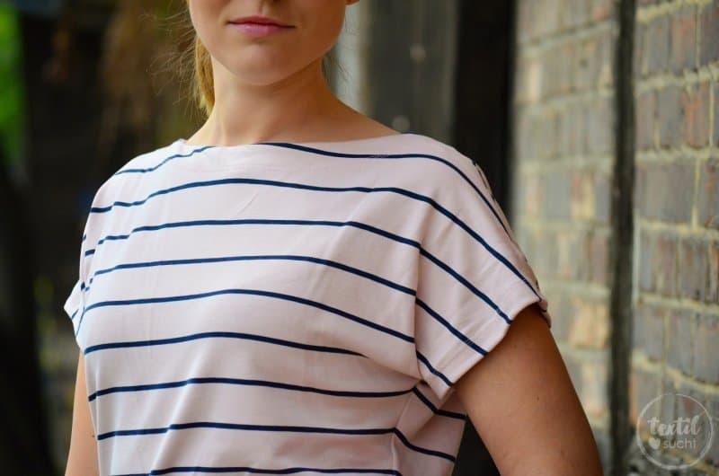 Schnittmuster Shirt Lilla mit U-Boot-Ausschnitt - Bild 4 | textilsucht.de