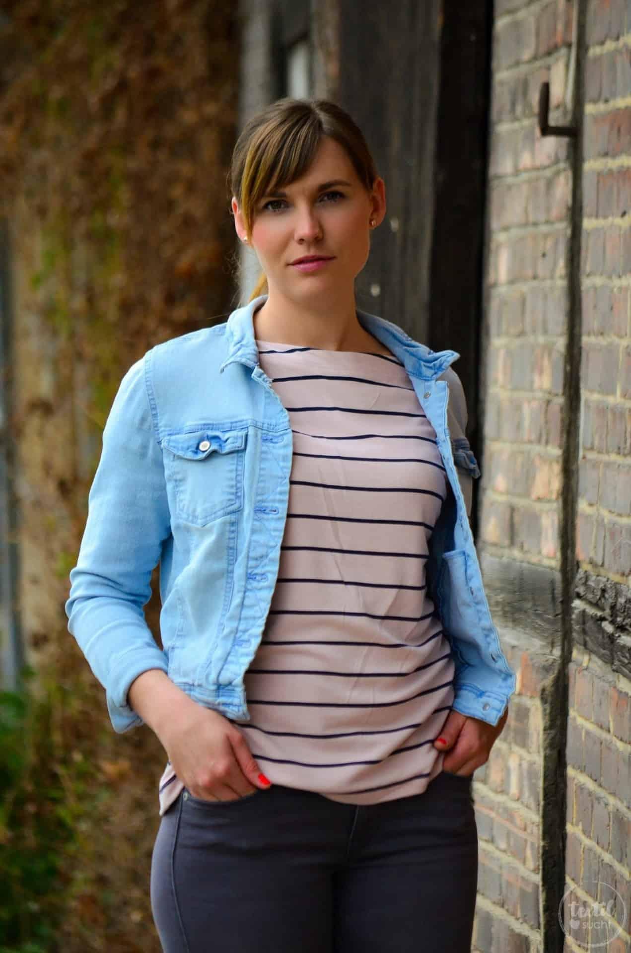 Schnittmuster Shirt Lilla mit U-Boot-Ausschnitt - Bild 11 | textilsucht.de