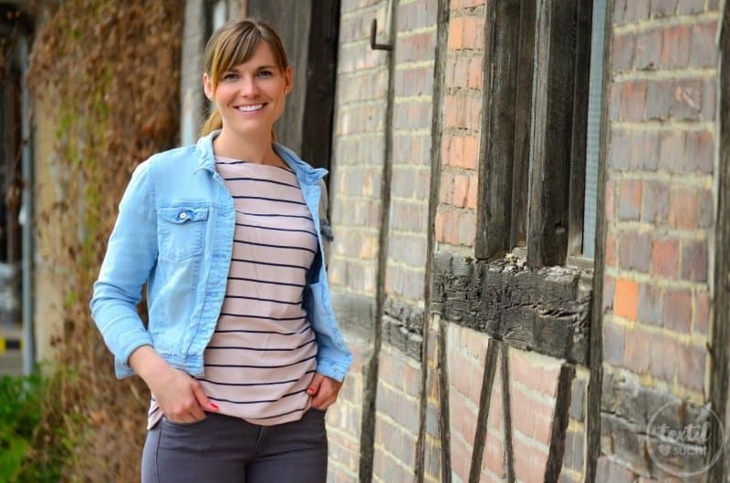 Schnittmuster Shirt Lilla mit U-Boot-Ausschnitt - Bild 2 | textilsucht.de