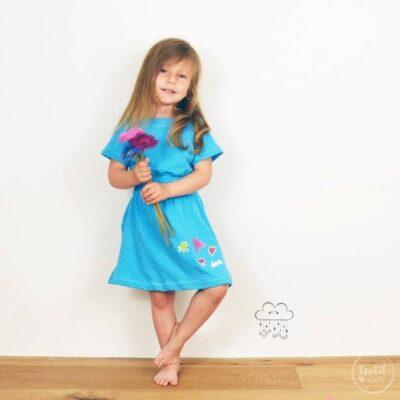 Schnittmuster Kinderkleid Federleicht Gr. 86-158 - inkl. Nähanleitung