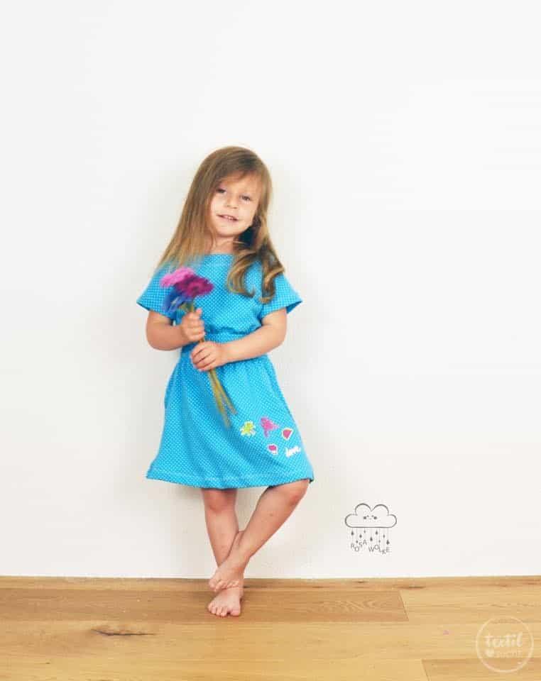 Schnittmuster Kinderkleid Federleicht Gr. 86 - 158 - inkl ...