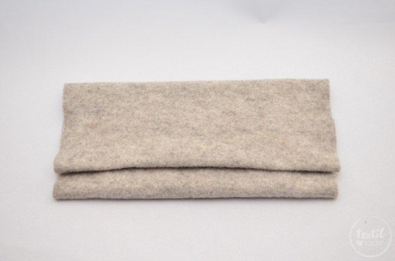 Nähanleitung: Notebookhülle nähen aus Filz und SnapPap - Schritt 2   textilsucht.de