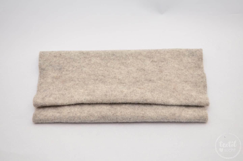 Nähanleitung: Notebookhülle nähen aus Filz und SnapPap - Schritt 2 | textilsucht.de