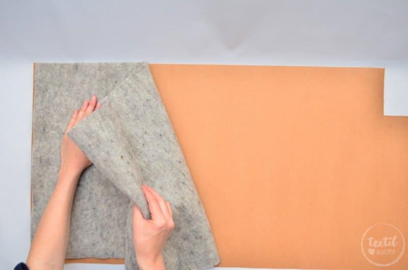 Nähanleitung: Notebookhülle nähen aus Filz und SnapPap - Schritt 3   textilsucht.de