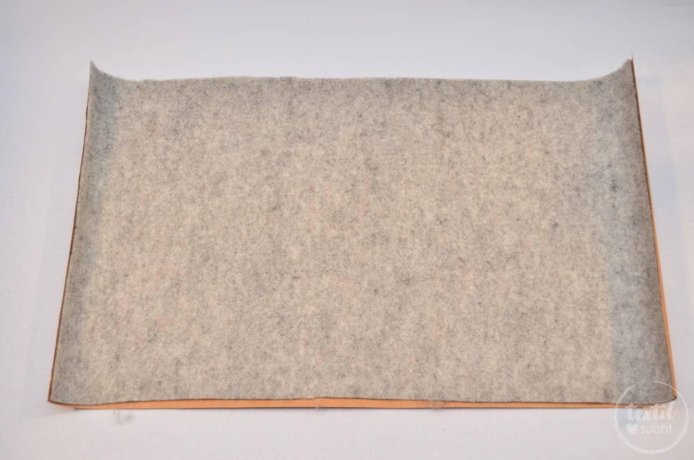 Nähanleitung: Notebookhülle nähen aus Filz und SnapPap - Schritt 4 | textilsucht.de