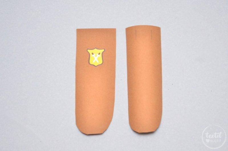 Schwerthülle nähen aus Snap Pap - Schritt 5 | textilsucht