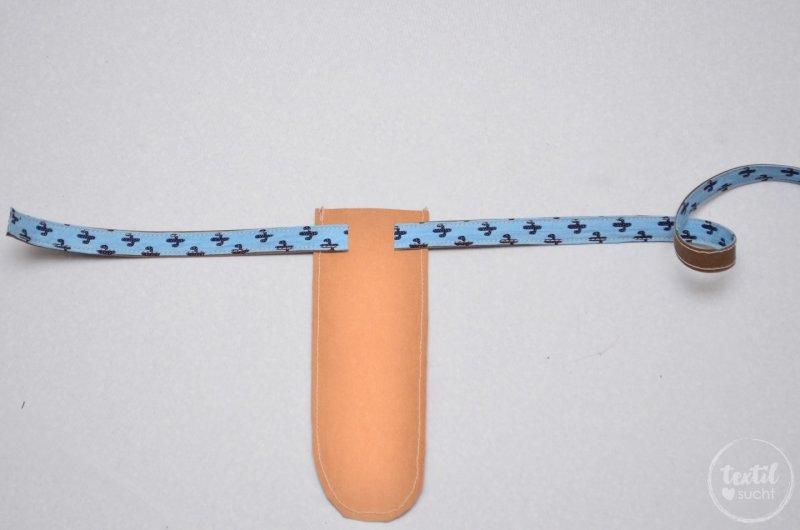 Schwerthülle nähen aus Snap Pap - Schritt 7 | textilsucht