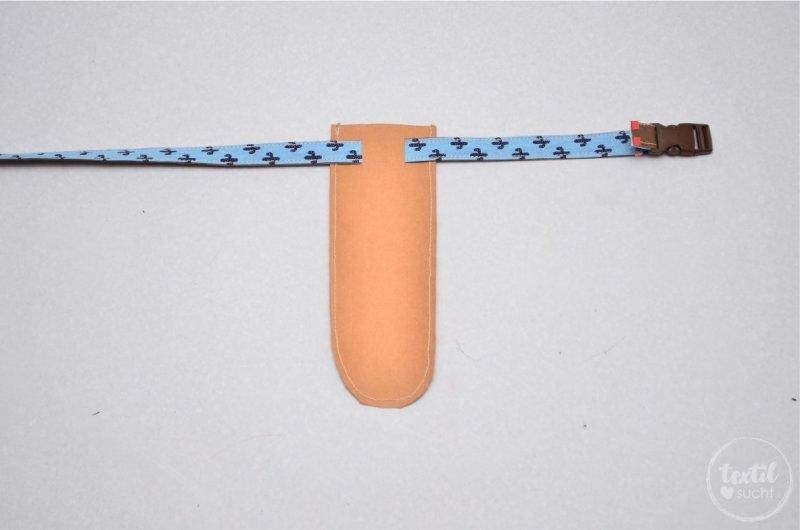 Schwerthülle nähen aus Snap Pap - Schritt 8 | textilsucht