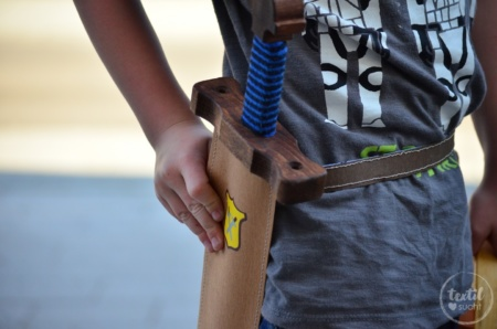 Schwerthülle nähen aus Snap Pap - Titelbild | textilsucht