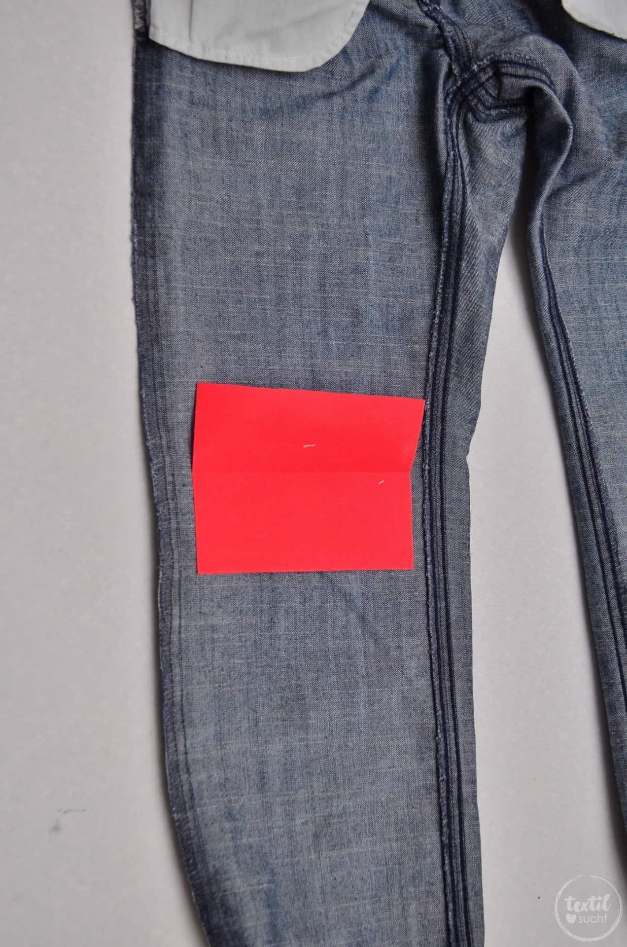 Nähanleitung Kniemonster: Kinderhosen kreativ flicken - Schritt 5 | textilsucht.de
