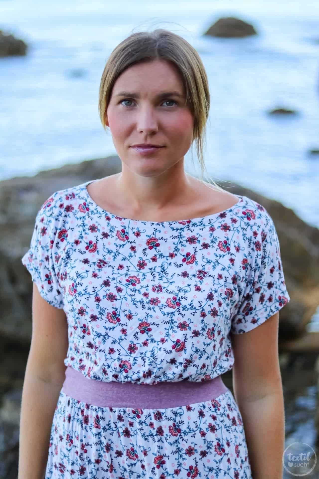 Mein neues Lieblings-Sommerkleid mit Blumenmuster - Bild 4 | textilsucht.de