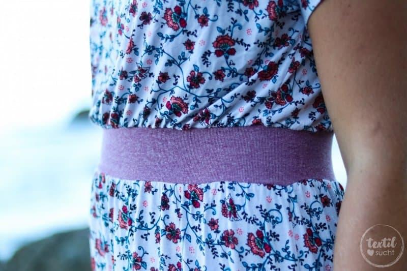 Mein neues Lieblings-Sommerkleid mit Blumenmuster - Bild 5 | textilsucht.de