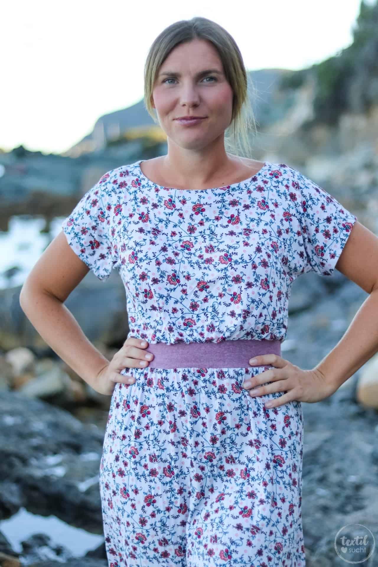 Mein neues Lieblings-Sommerkleid mit Blumenmuster - Bild 9 | textilsucht.de