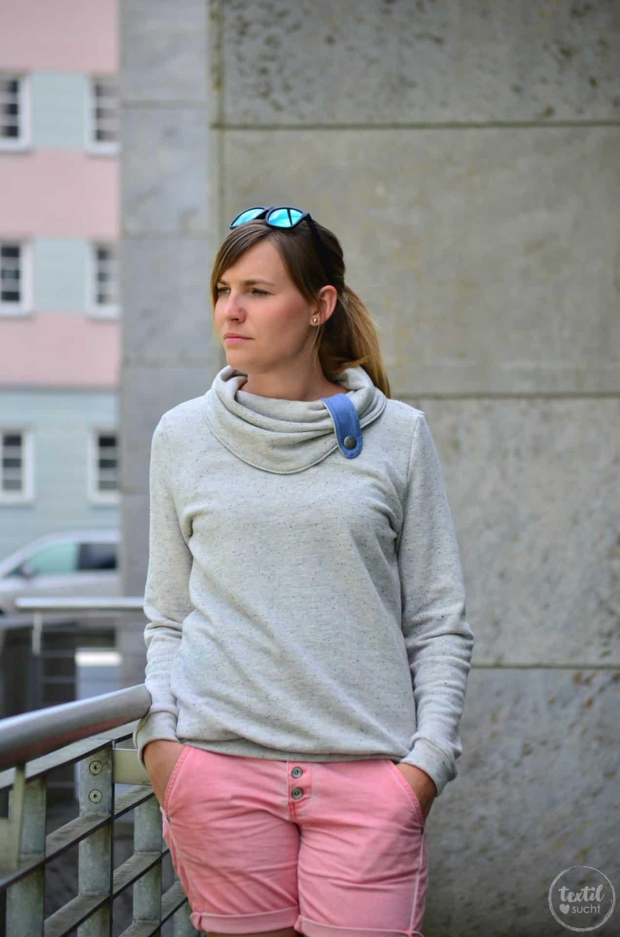 Pullover Schnitt Herzkönigin aus Vintagesweat von Staghoern Design - Bild 5 | textilsucht.de