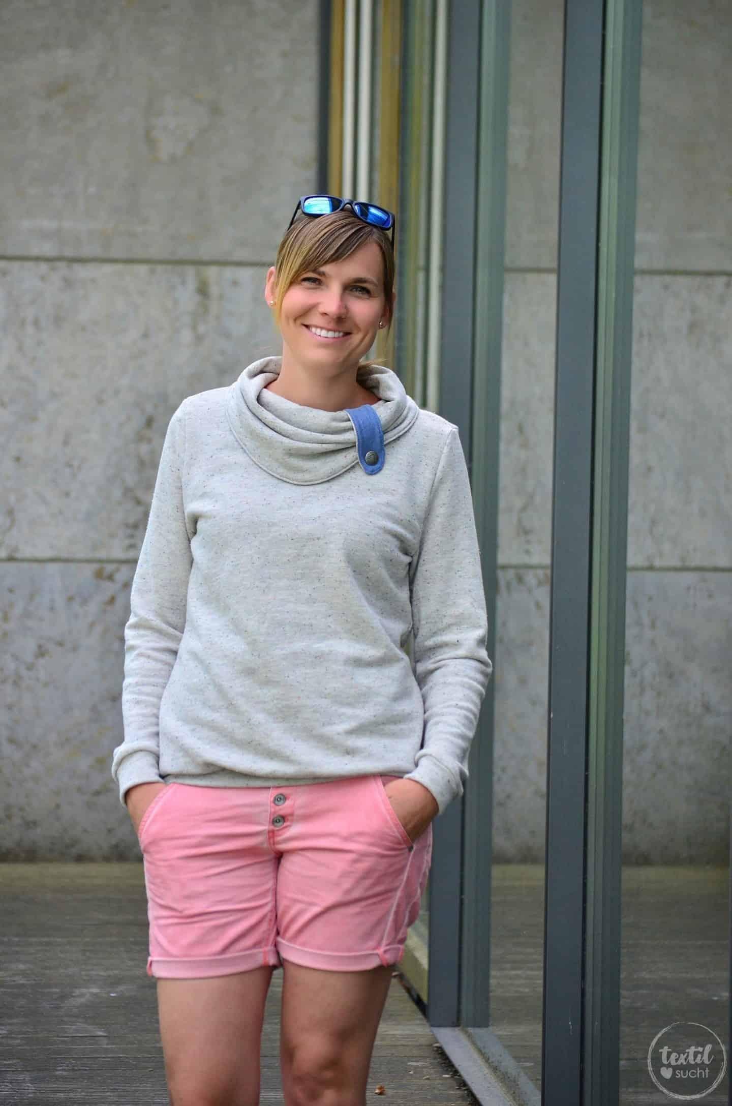 Pullover Schnitt Herzkönigin aus Vintagesweat von Staghoern Design - Bild 1 | textilsucht.de