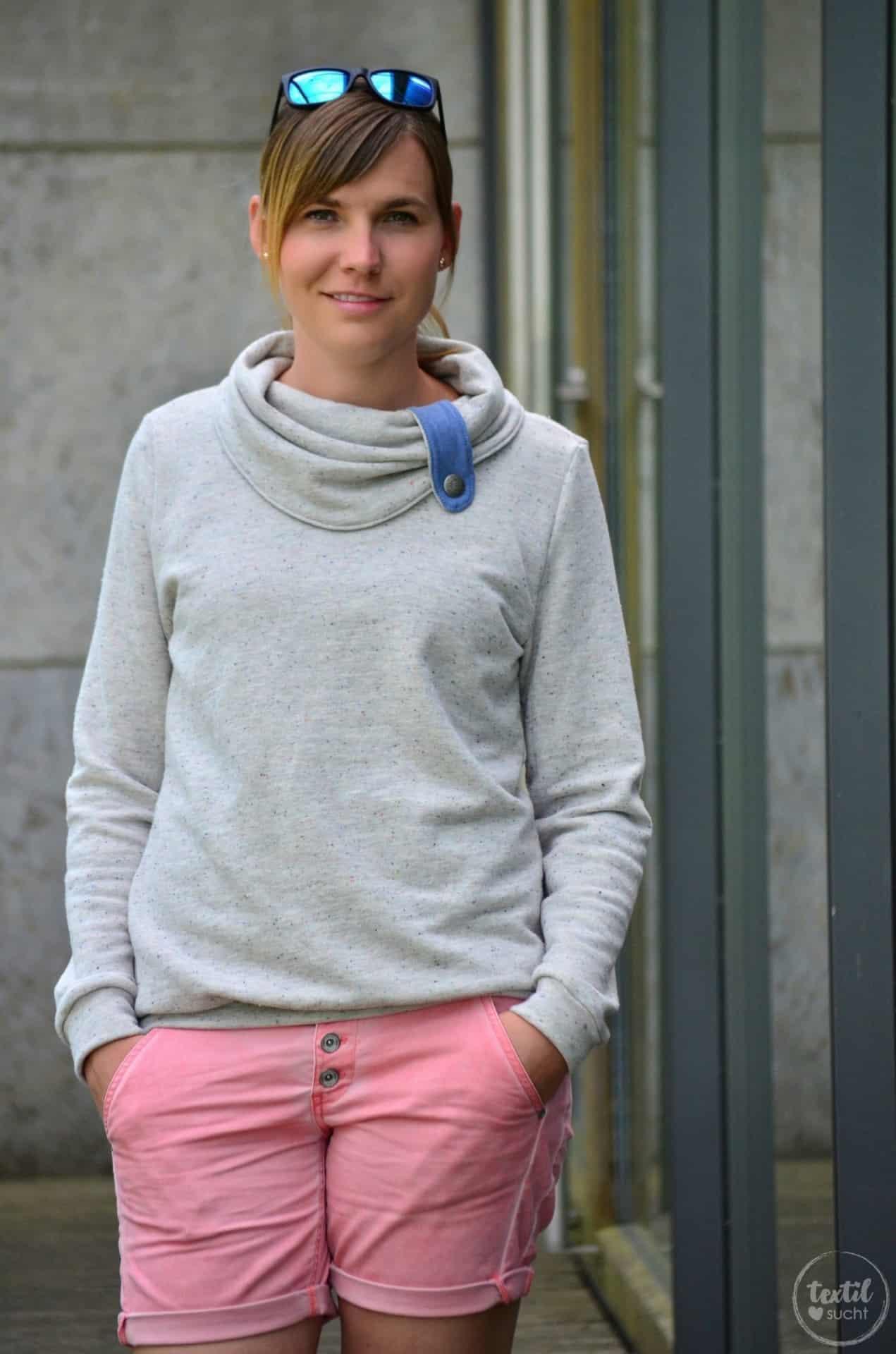 Pullover Schnitt Herzkönigin aus Vintagesweat von Staghoern Design - Bild 6 | textilsucht.de
