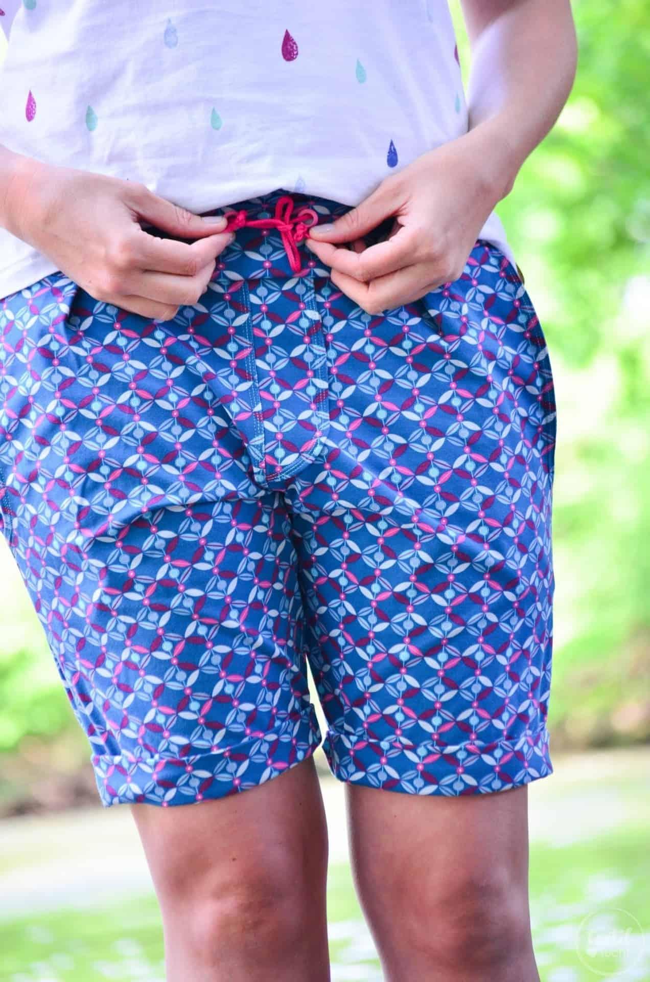Nähen für den Sommerurlaub: Velara Shorts aus Jersey - Bild 2 | textilsucht.de