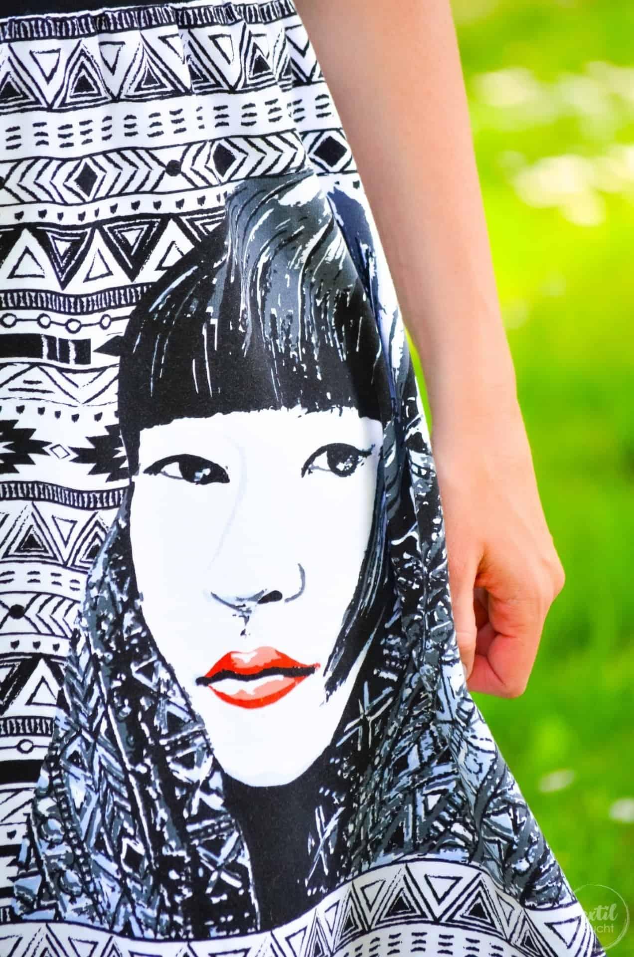 Sommerkleid nähen: Kleid Federleicht im Hippielook - Bild 2 | textilsucht.de