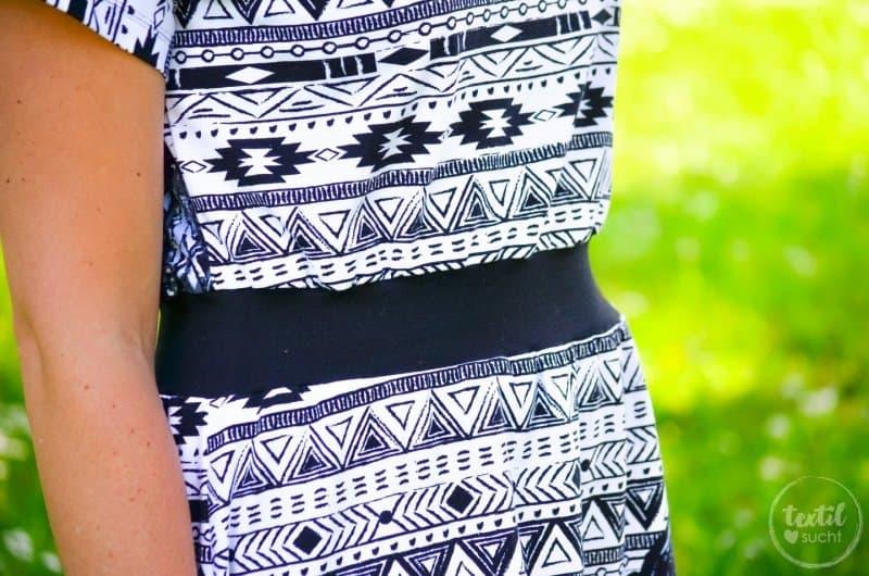 Sommerkleid nähen: Kleid Federleicht im Hippielook - Bild 3 | textilsucht.de