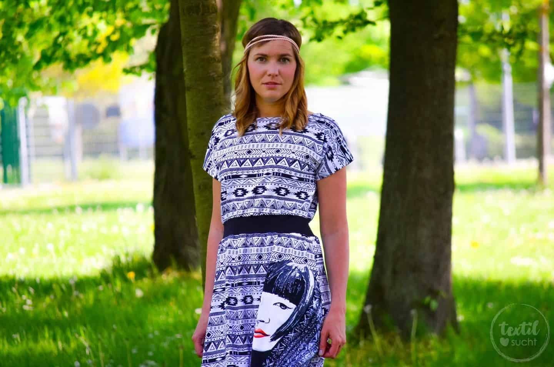 Sommerkleid nähen: Kleid Federleicht im Hippielook
