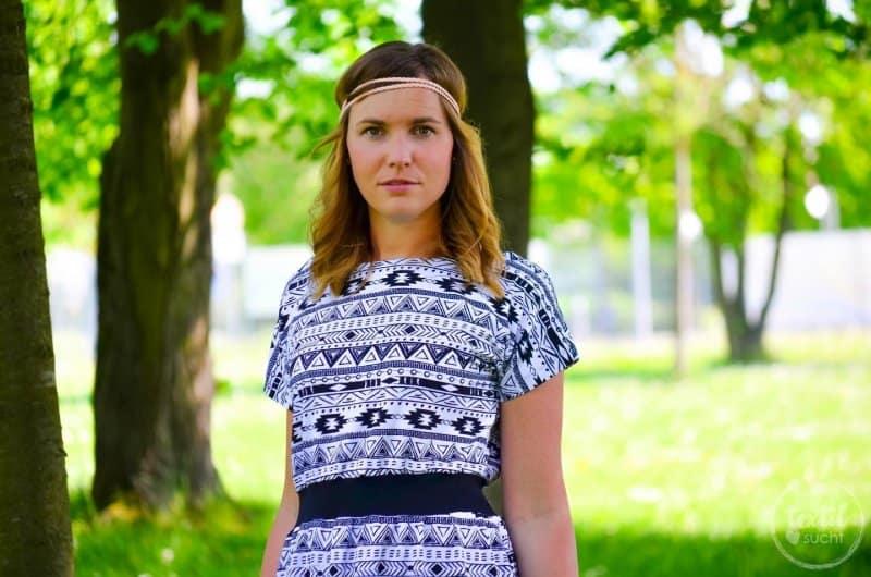 Sommerkleid nähen: Kleid Federleicht im Hippielook - Bild 5 | textilsucht.de