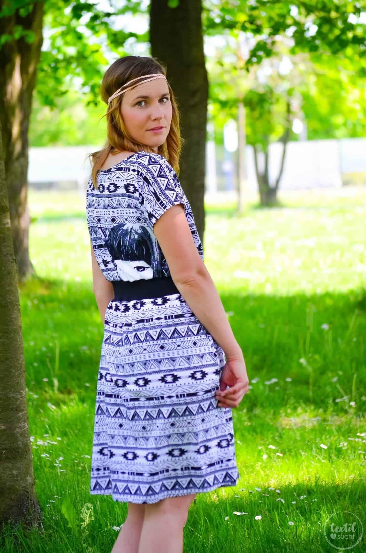 Sommerkleid nähen: Kleid Federleicht im Hippielook - Bild 1 | textilsucht.de