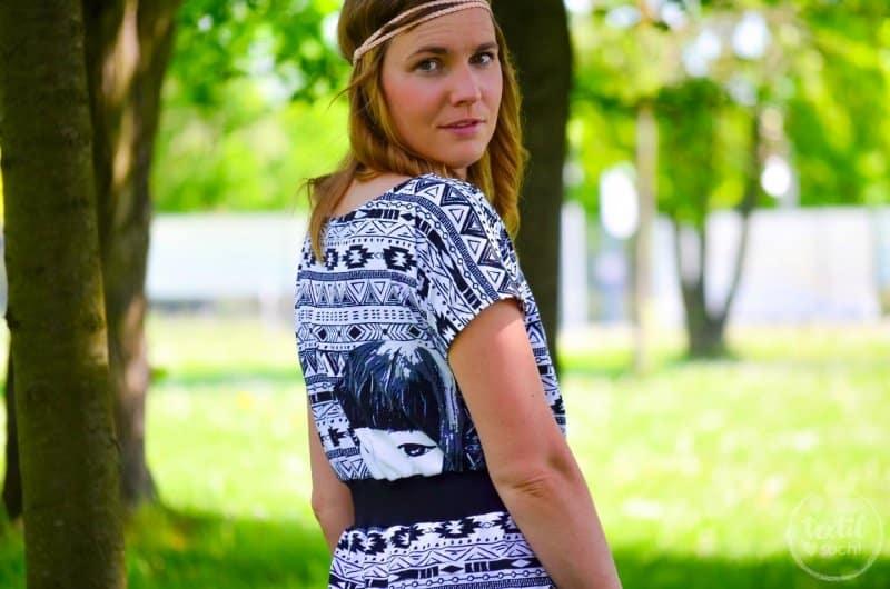 Sommerkleid nähen: Kleid Federleicht im Hippielook - Bild 4 | textilsucht.de