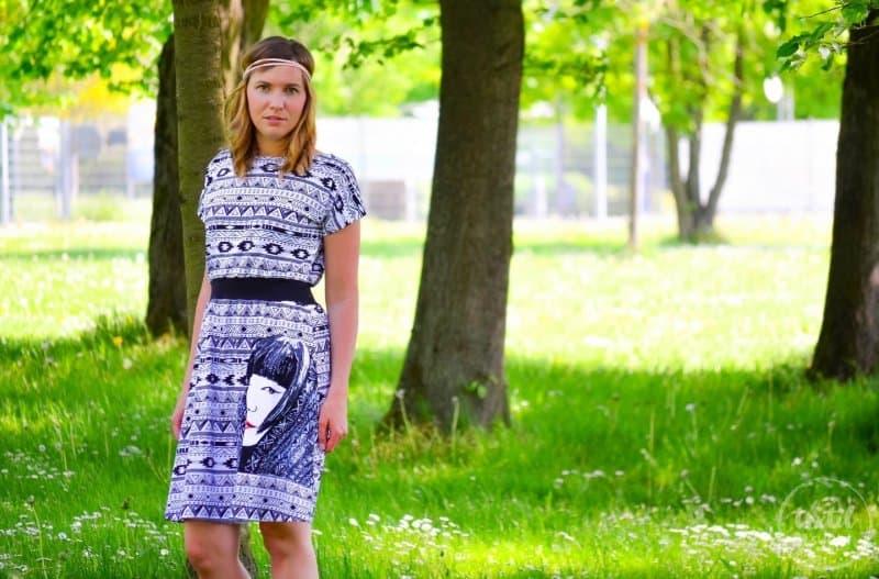 Sommerkleid nähen: Kleid Federleicht im Hippielook - Bild 6 | textilsucht.de