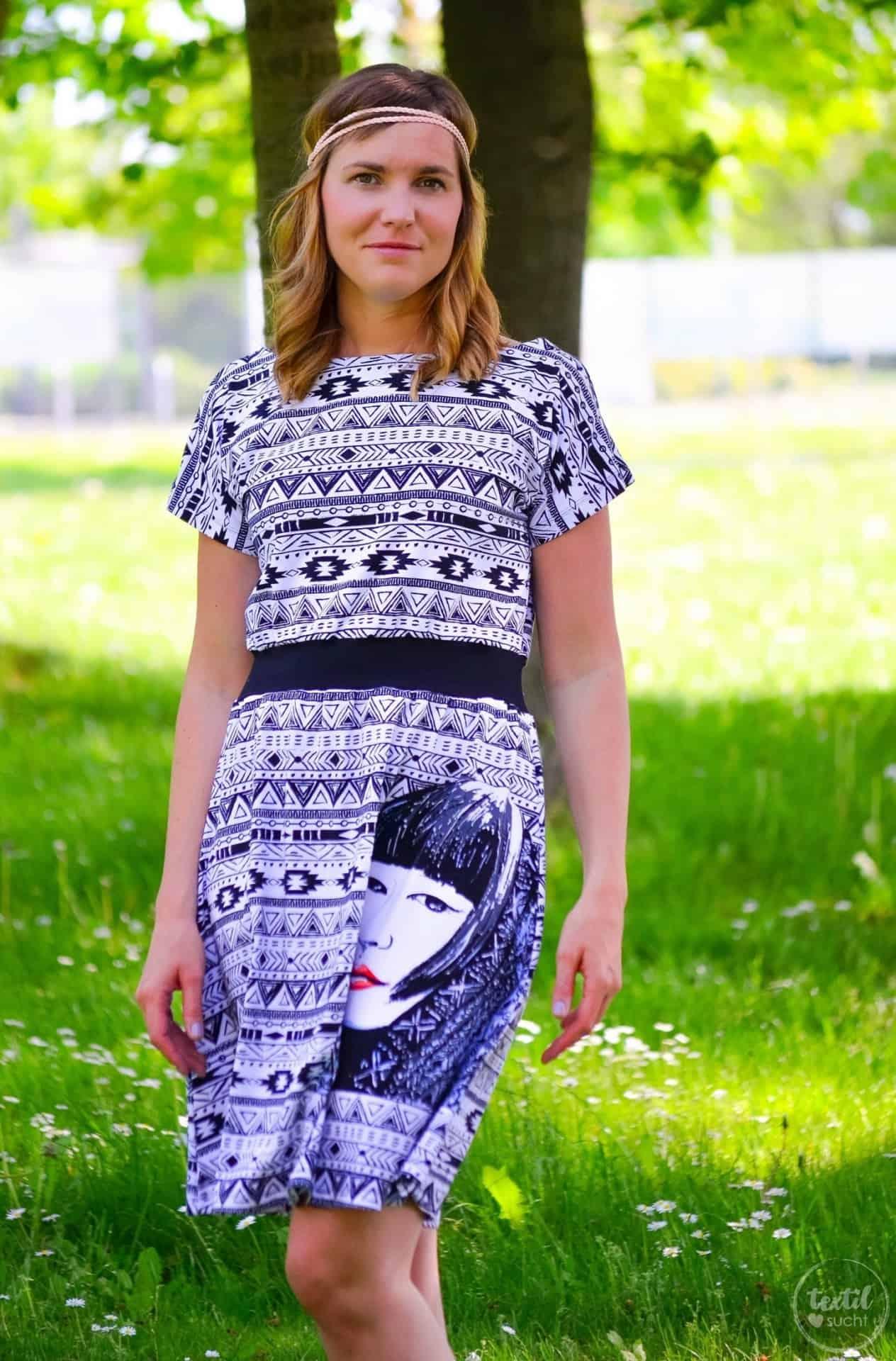 Sommerkleid nähen: Kleid Federleicht im Hippielook - Bild 7 | textilsucht.de
