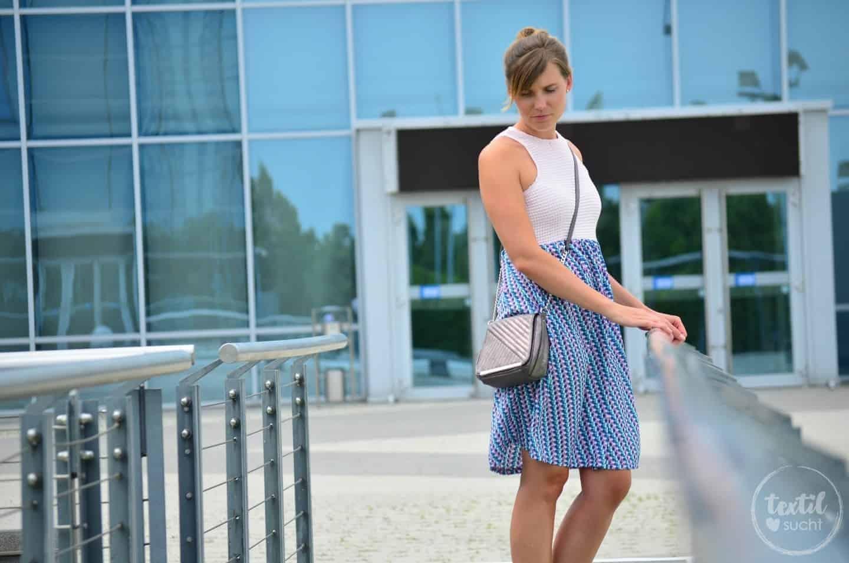 Sommerkleid nähen: Kleid Kelani aus Webware