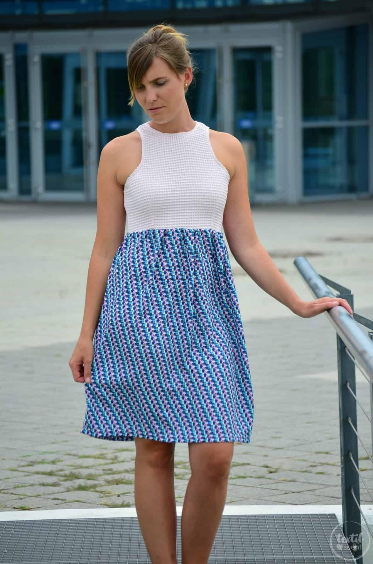 Sommerkleid nähen: Kleid Kelani aus Webware - Bild 1   textilsucht.de