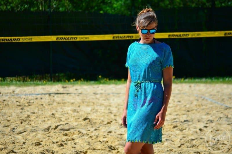 Nähen für den Strand: Shirt Lilla als Strandkleid - Bild 2 | textilsucht.de