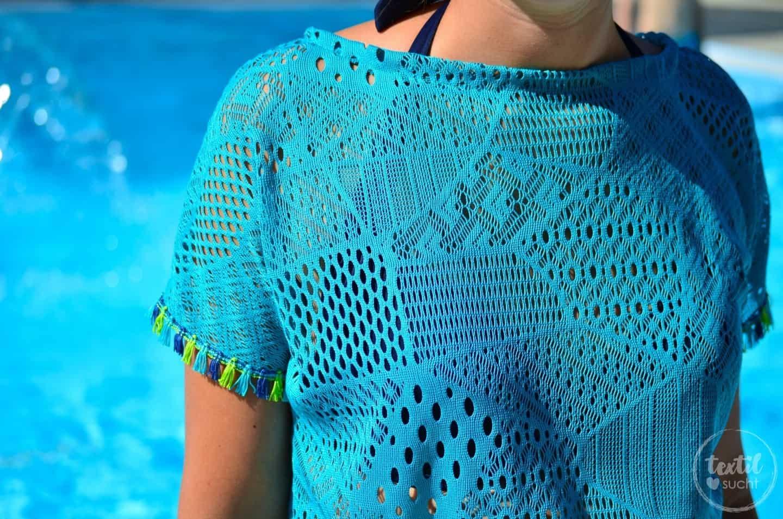 Nähen für den Strand: Shirt Lilla als Strandkleid - Bild 3 | textilsucht.de