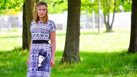 Sommerkleid nähen: Schnittmuster Kleid Federleicht im Hippielook