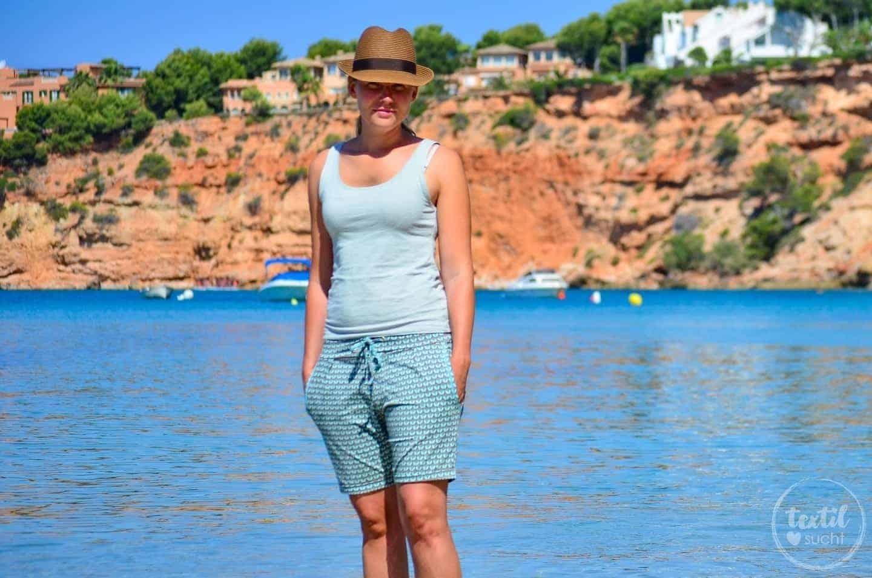 Nähen für den Strand: Velara Shorts die Zweite