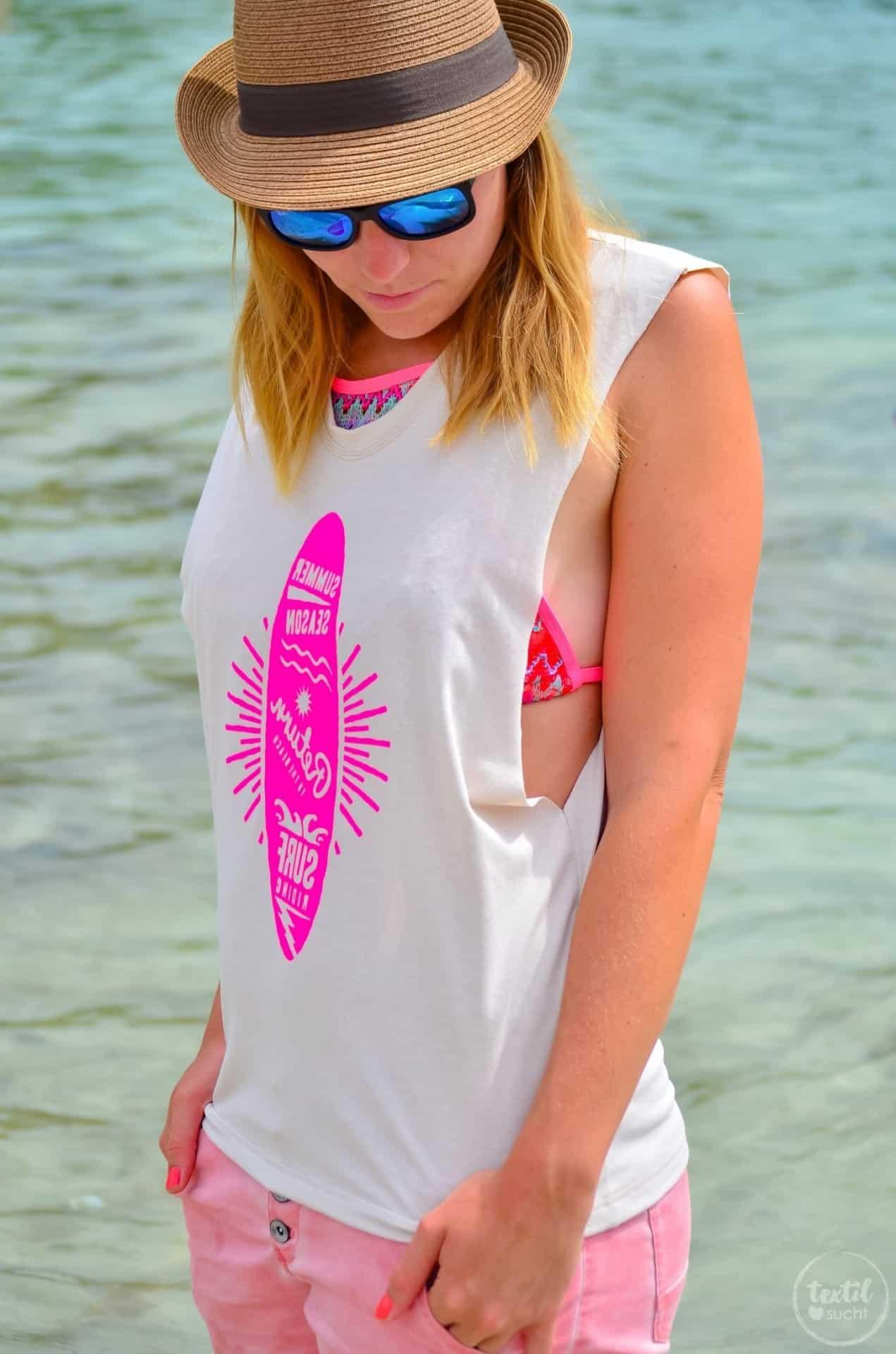 Nähen für den Strand: Mein neues Schnittmuster Das Beachshirt - Bild 4 | textilsucht.de
