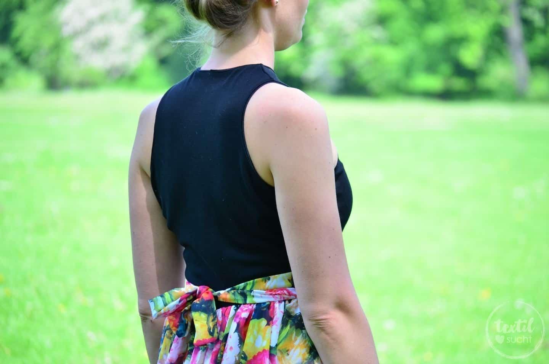 Kleid nähen: Schnittmuster Kleid Kelani im Sommerlook - Bild 2 | textilsucht.de