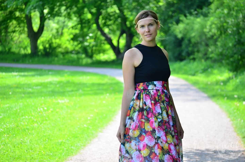 Kleid nähen: Schnittmuster Kleid Kelani im Sommerlook - Bild 1 | textilsucht.de