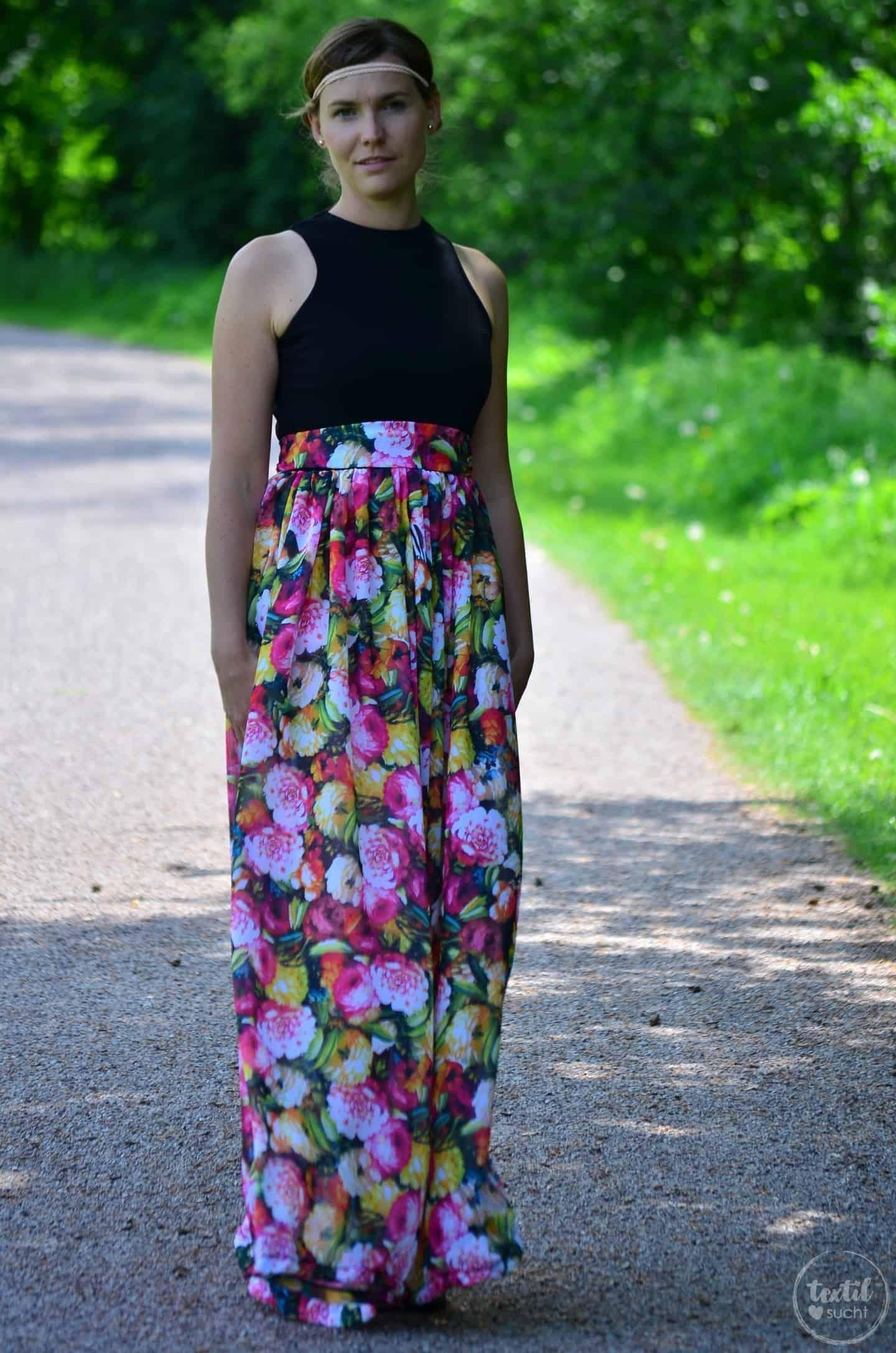 Kleid nähen: Schnittmuster Kleid Kelani im Sommerlook - Bild 5 | textilsucht.de