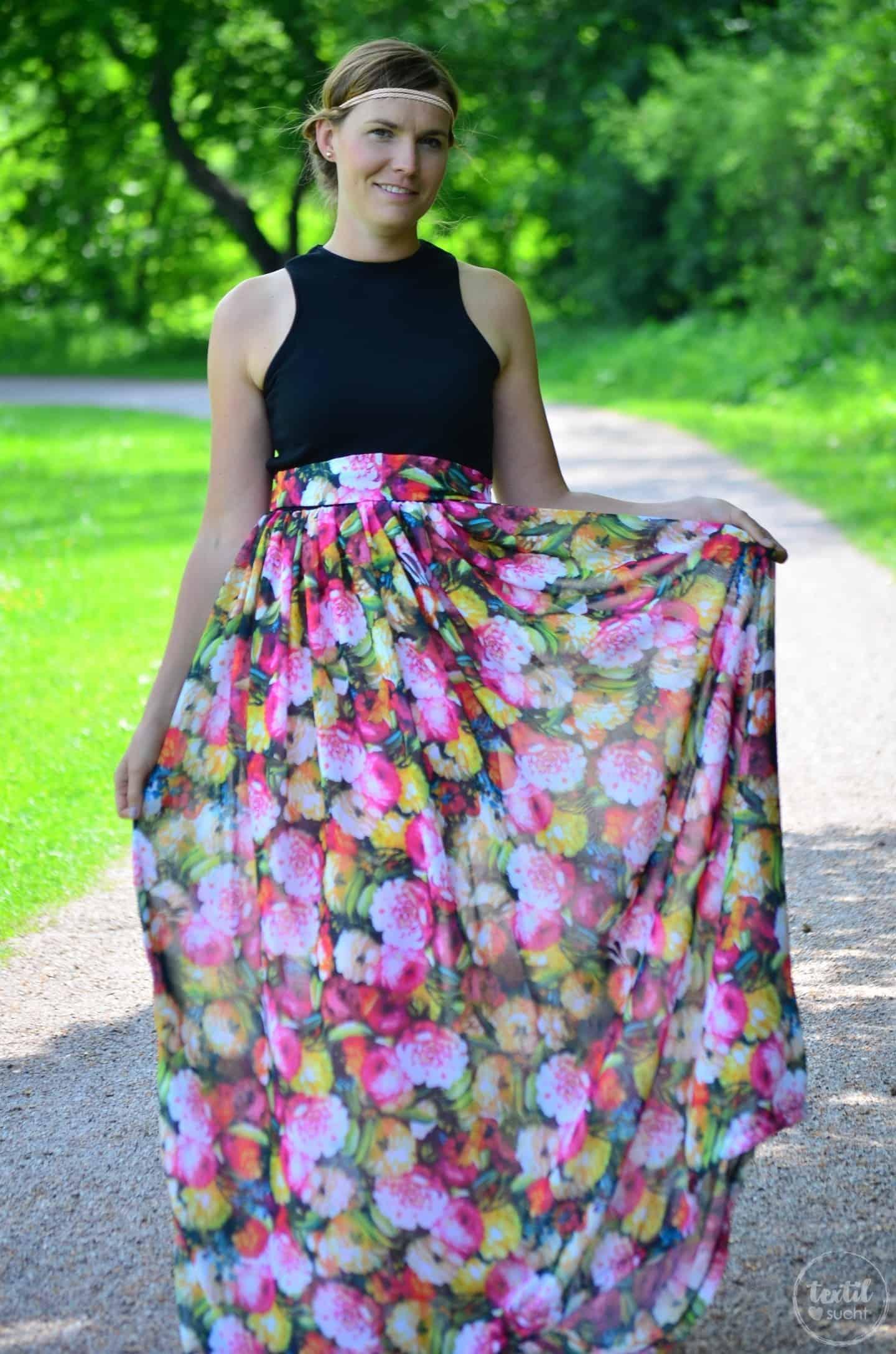Kleid nähen: Schnittmuster Kleid Kelani im Sommerlook - Bild 6 | textilsucht.de