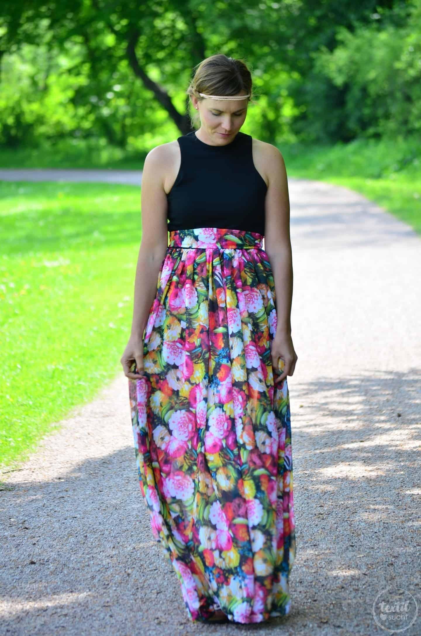 Kleid nähen: Schnittmuster Kleid Kelani im Sommerlook - Bild 7 | textilsucht.de