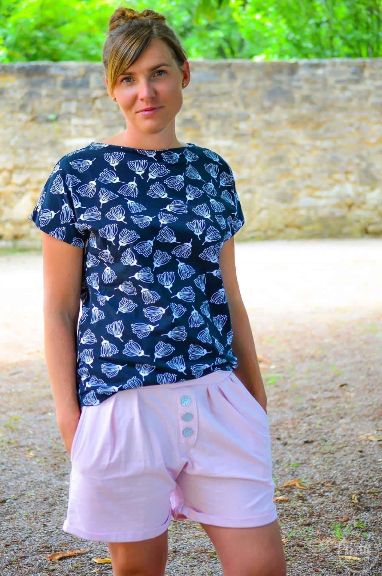 Stoff Designnähen: Luftige Shorts aus Leinen - Bild 1 | textilsucht.de