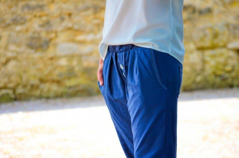 Leinenhose nähen: Eine lässige Hose Velara aus Leinen - Bild 3 | textilsucht.de