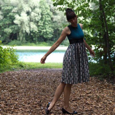 Schnittmuster Kleid Kelani Gr. 32-48 inkl. Nähanleitung - Bild 7