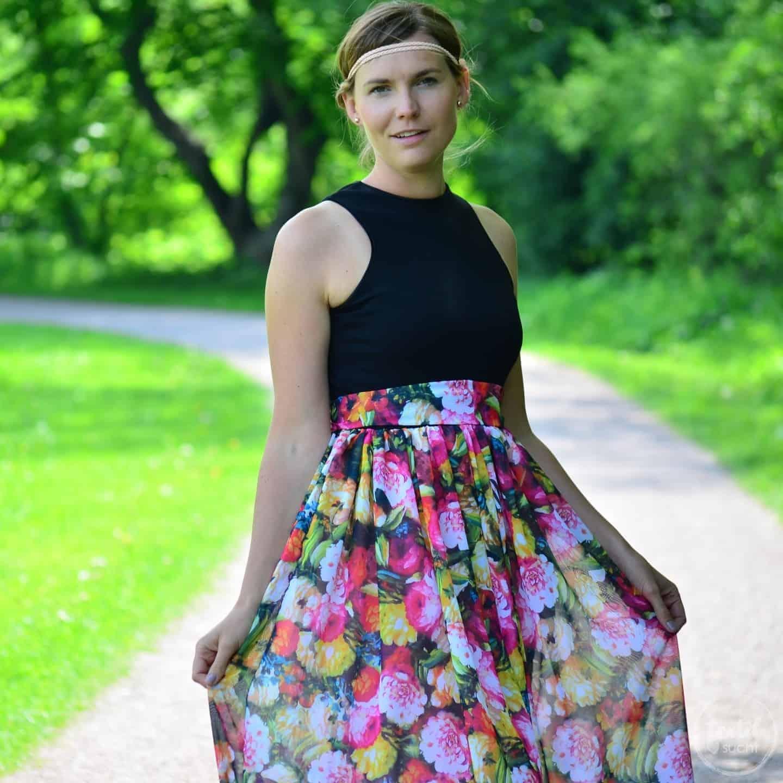 Schnittmuster Kleid Kelani Gr. 32-48 inkl. Nähanleitung » Textilsucht®