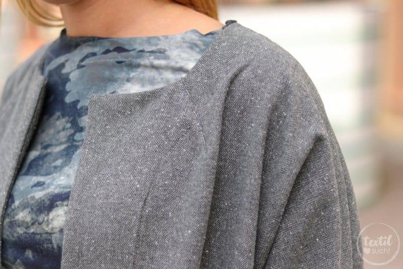 Mein neuer Egg-Shape-Mantel - Frau Ava von Hedi näht - Bild 6 | textilsucht