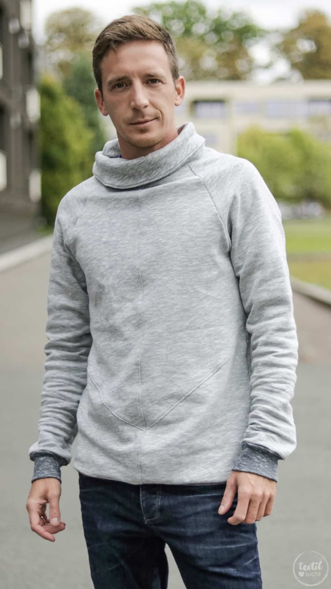 Schnittmuster Sweater Kuschelwarm